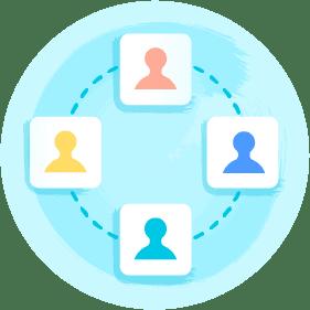 Symbol: DACI-Framework zur Entscheidungsfindung