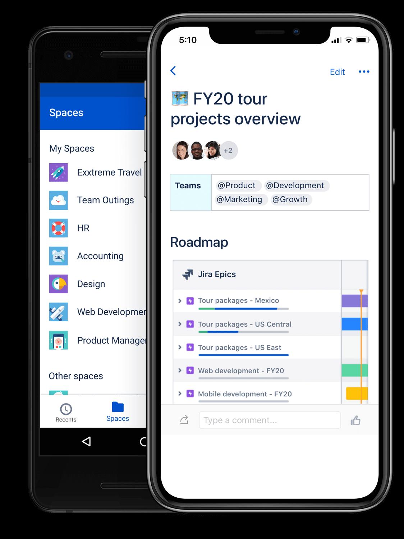 screenshot van iphone 11 met projectoverzicht